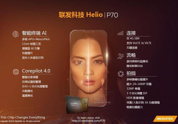 Realme确定先发MTKP70 适用VOOC快速充电
