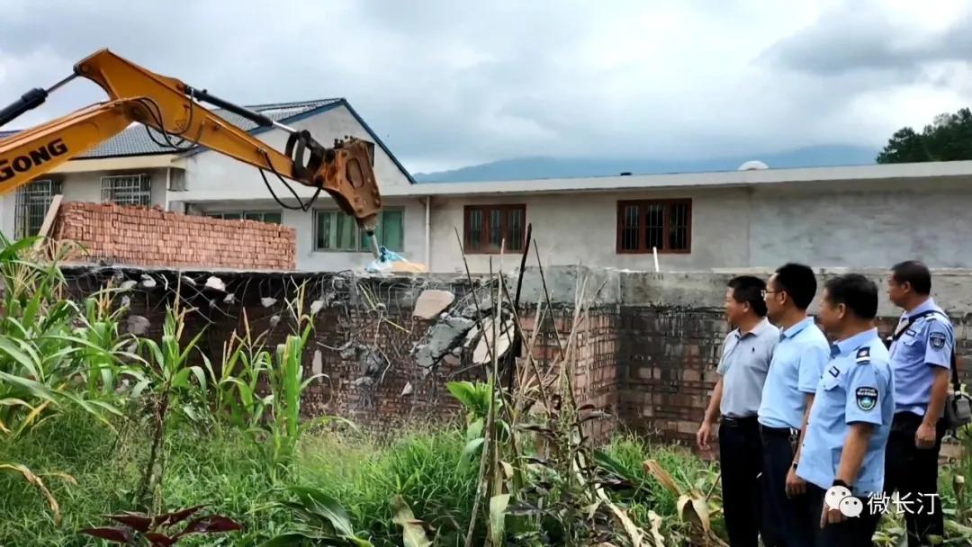 长汀县自然资源局:坚决遏制违法占用耕地建设