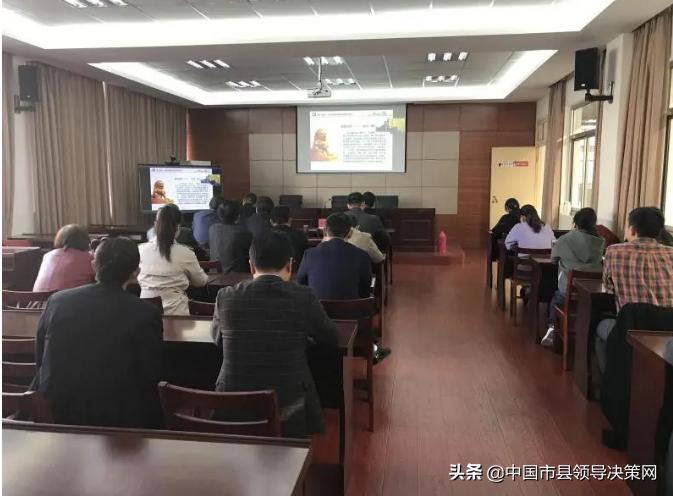 建湖中专组织收看省开放大学党的十九届五中全会精神宣讲报告会