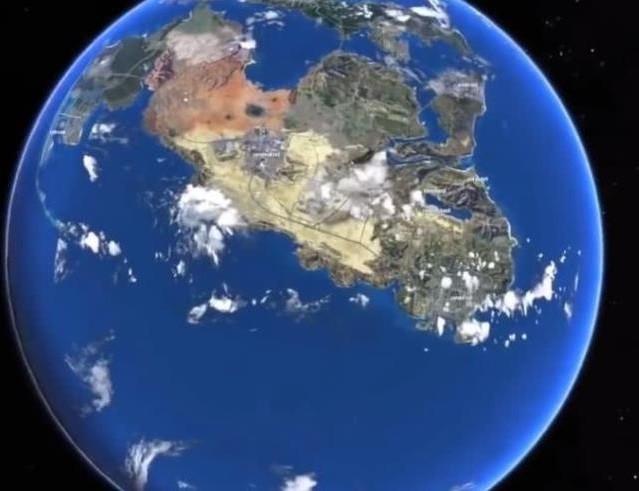 这是《GTA6》的地图吗?R星的手笔这么大?直接还原地图?