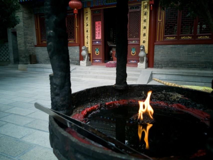罔极寺是太平公主为母亲武则天修建的祈福寺庙