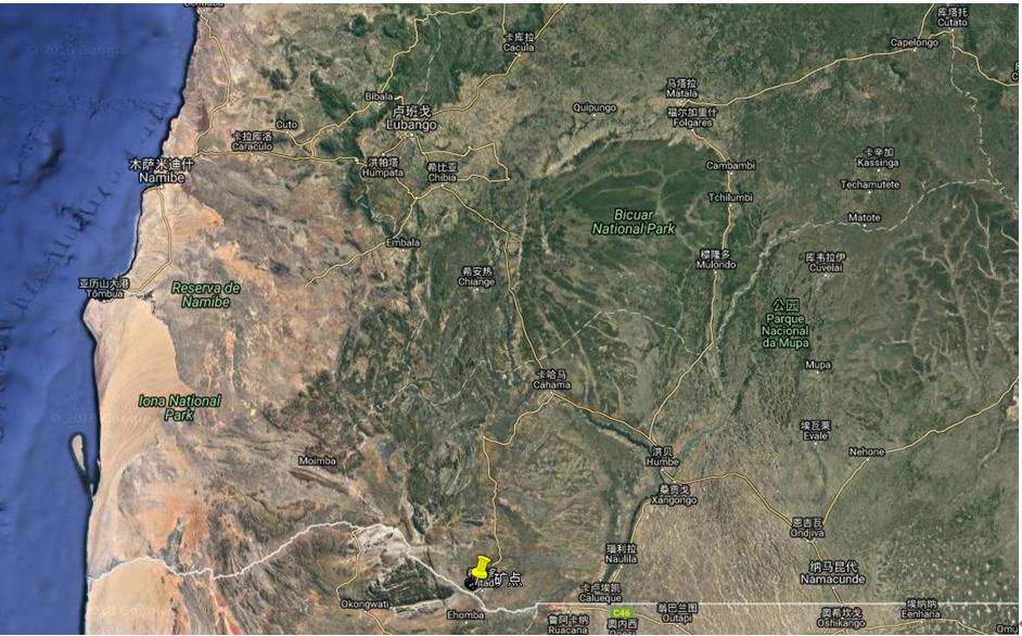 安哥拉库宁省希塔多钒钛磁铁矿调查总结