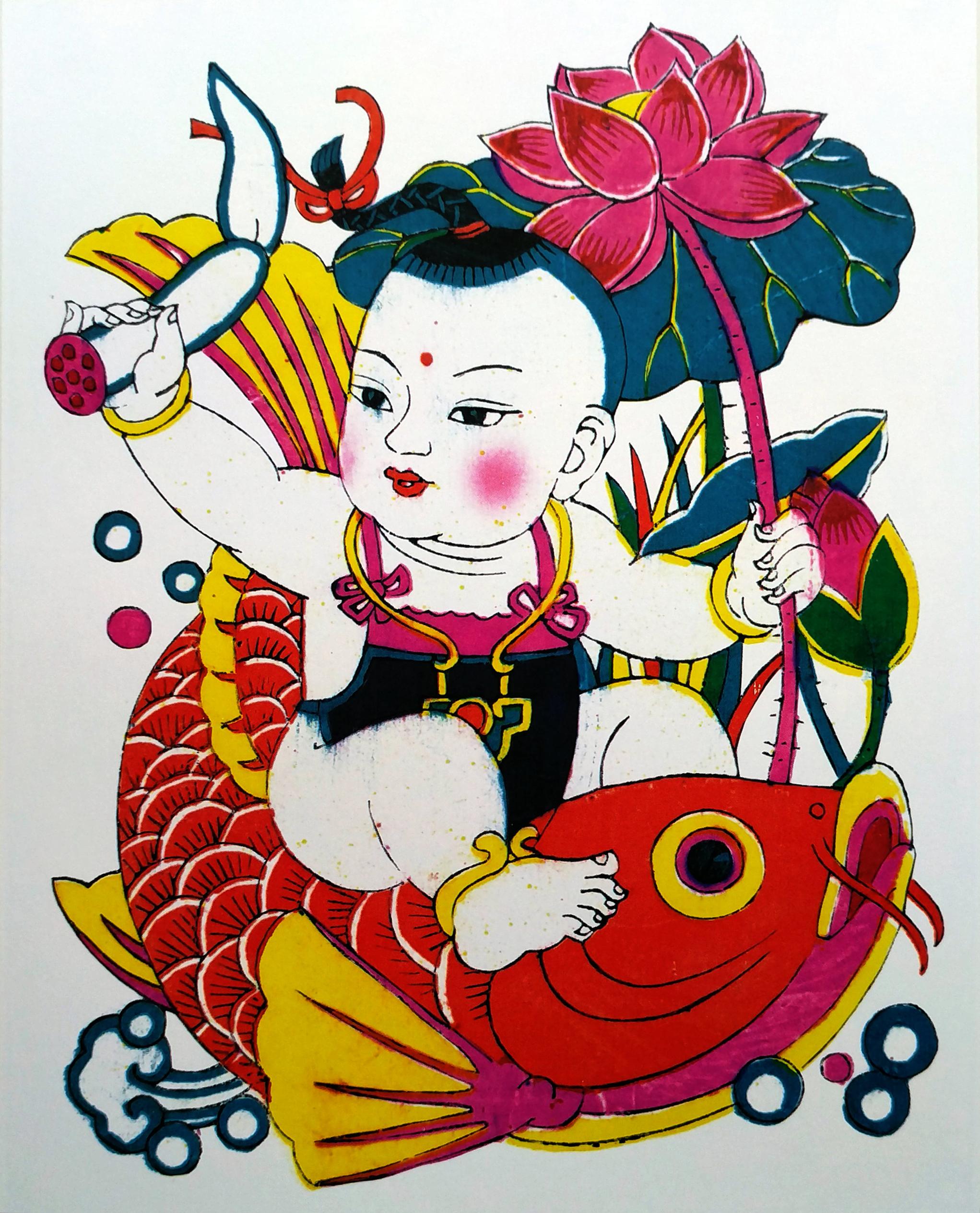 潍坊杨家埠传统年画