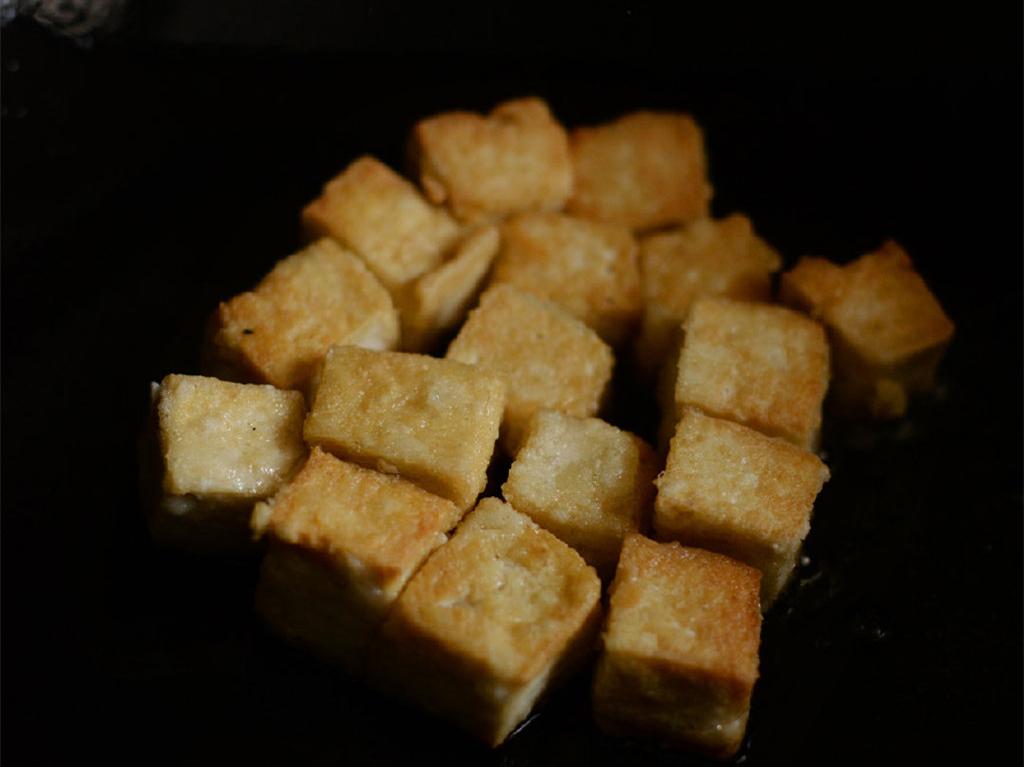 酸酸甜甜的茄汁脆皮豆腐,开胃下饭特别好吃,简单易做,一学就会 美食做法 第6张