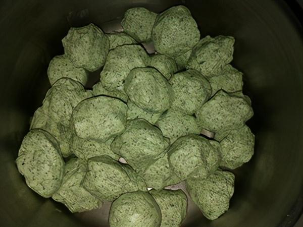 棉菜粑的做法,好吃 美食做法 第10张