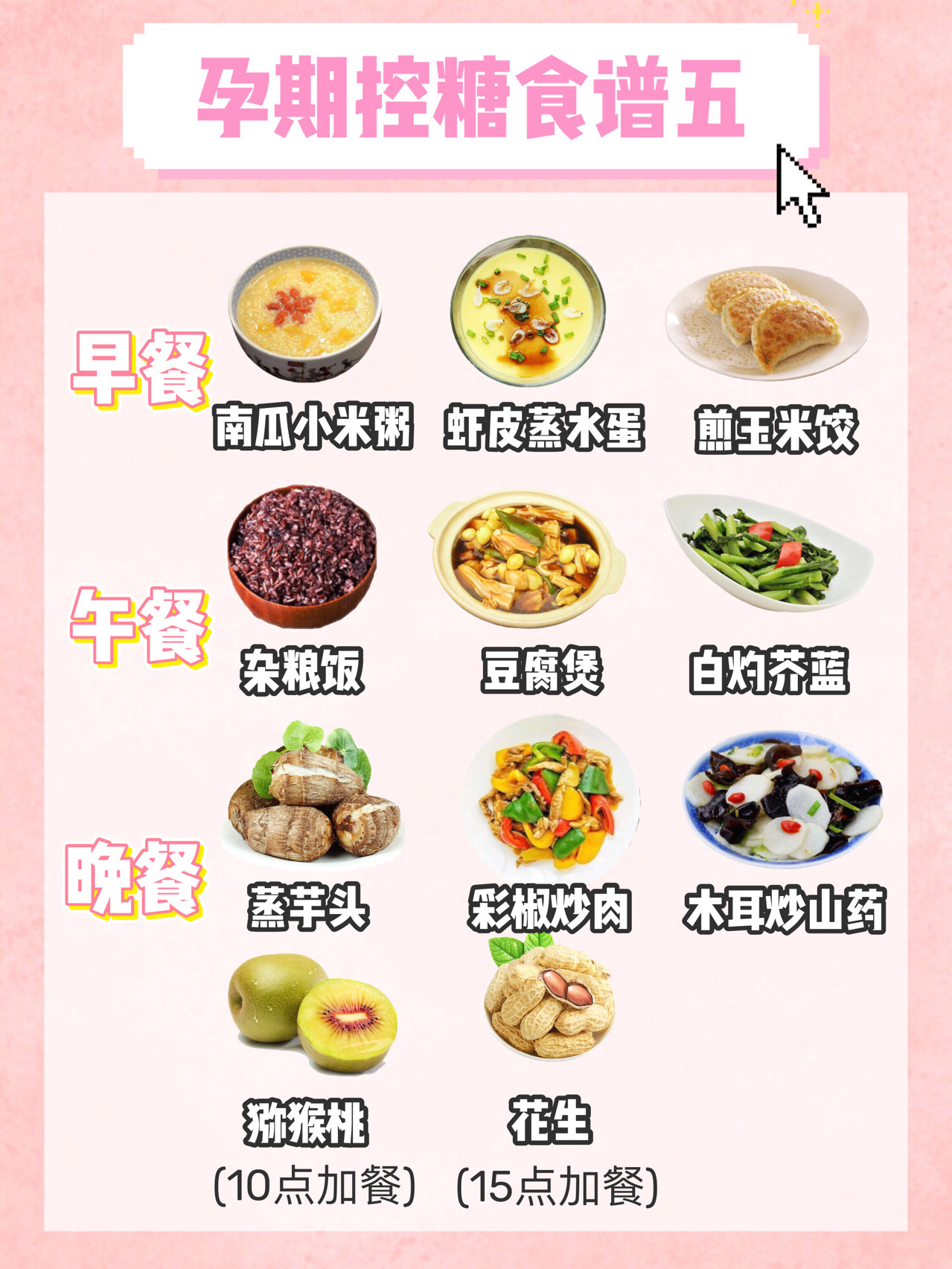 孕期控糖食谱,长胎不长肉,满满的干货 孕妇菜谱 第5张