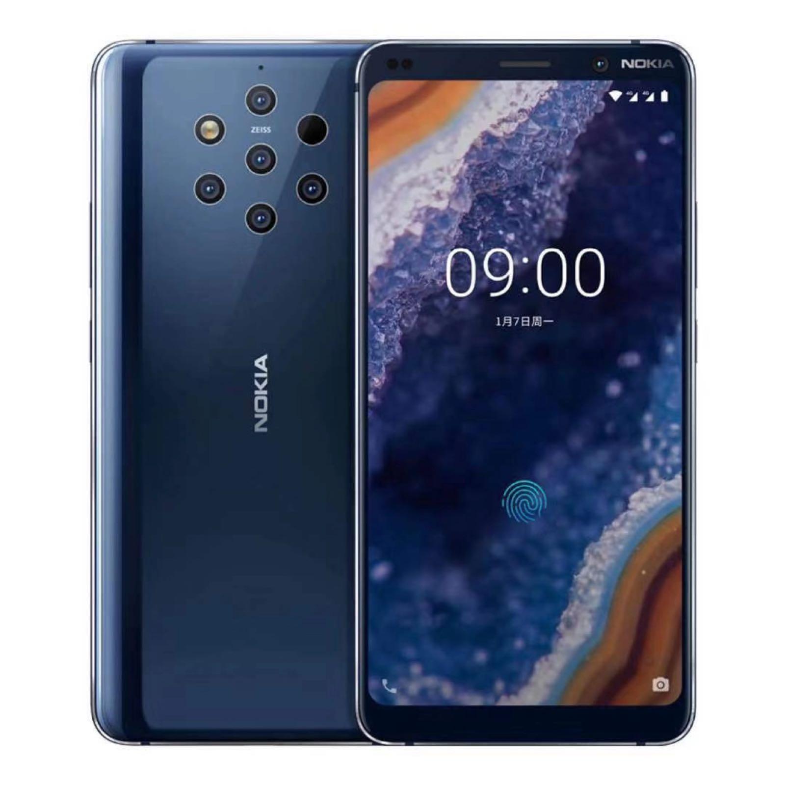 Nokia公布新智能手机,配五枚监控摄像头,外观设计神似淋浴花洒