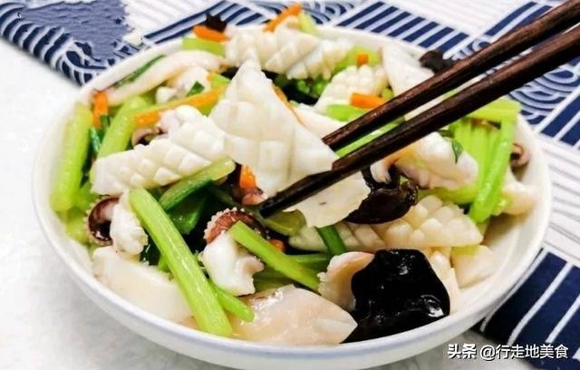 家常海鲜制作方法,鲜辣美味 美食做法 第8张