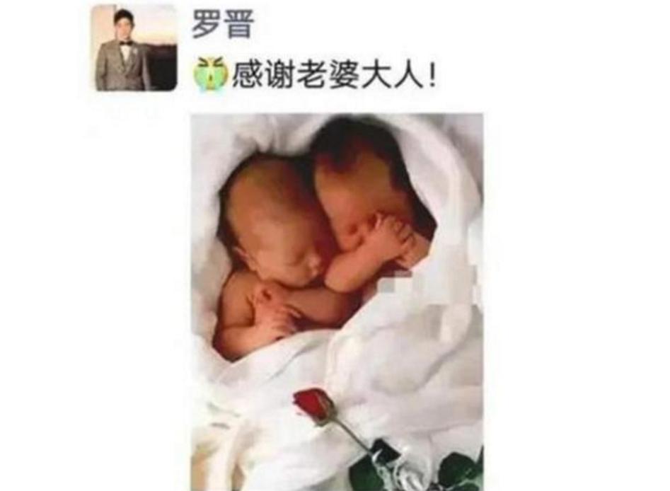 """有种""""好爸爸""""叫罗晋,悉心照顾双胞胎女儿,网友:羡慕唐嫣"""