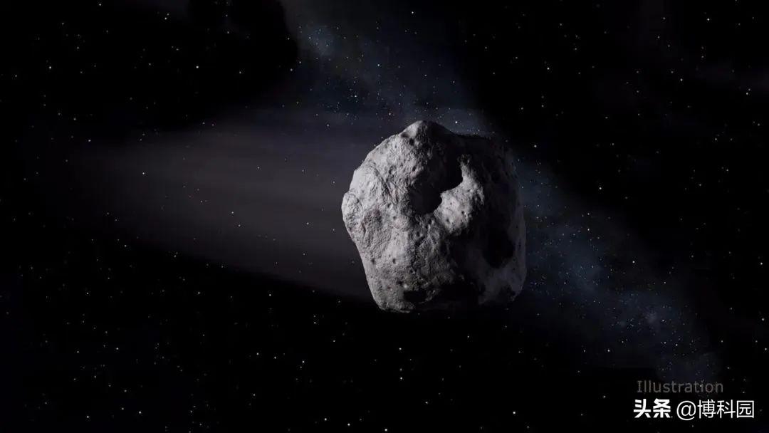 """这颗小行星已安全飞掠地球,但它却""""惊险""""的卫星""""下面""""飞过!"""