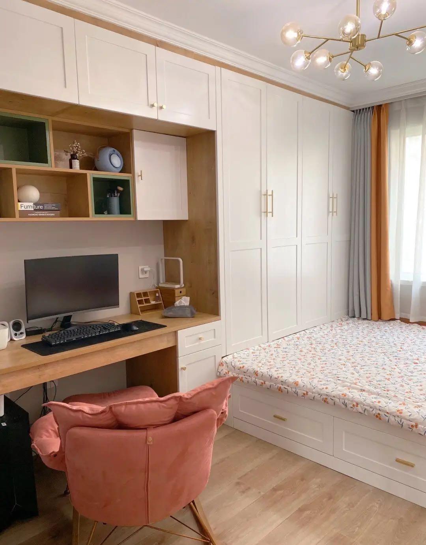 入住一年还跟新房一样,整洁又干净,收纳做得特充足,越看越舒服