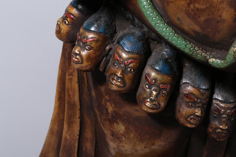 清代老铜佛像