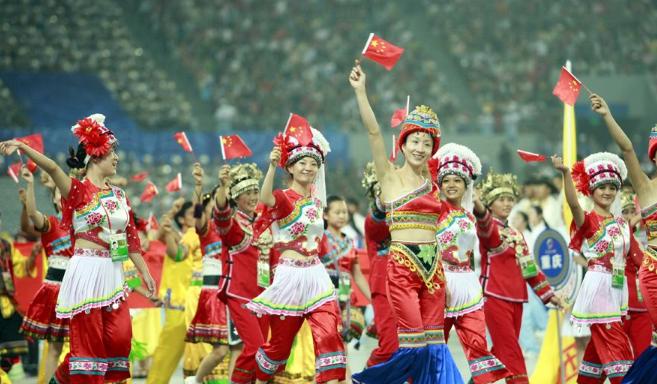 中国400多个民族:经过识别,最终确认为56个民族