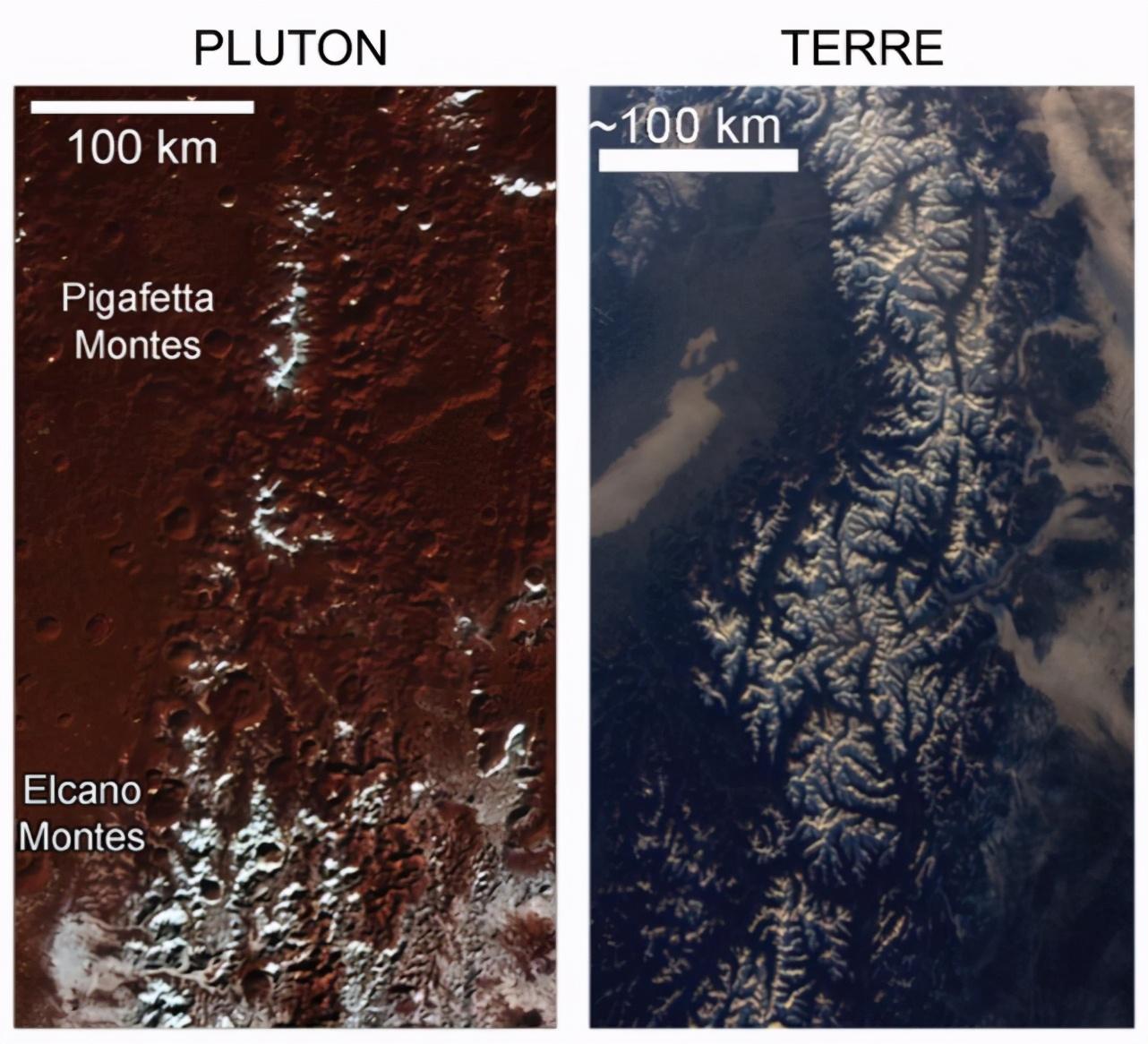 冥王星有着白雪覆盖的山峰,但这是为什么?