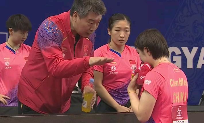 国乒3-0横扫日本队!实现亚锦赛女团7连冠,邓亚萍盛赞:打疯了