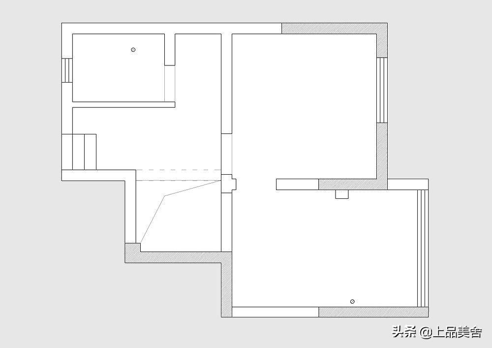 100平北欧风,利用楼梯做客厅电视背景墙,不仅好看还节省空间