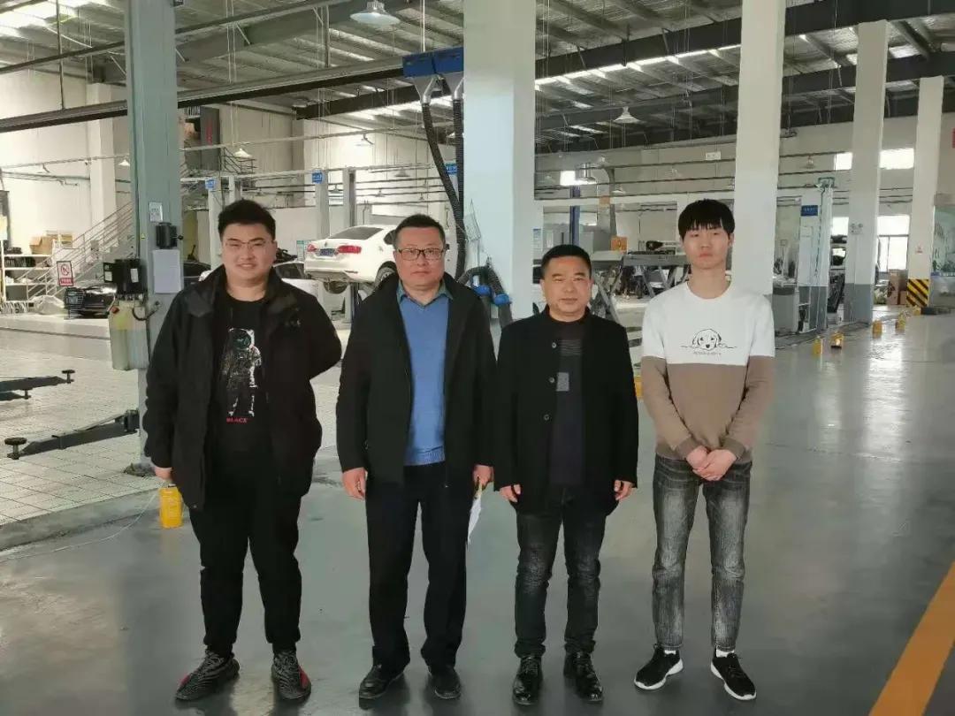 江苏建湖中专智造工程系走访18级学生实习单位