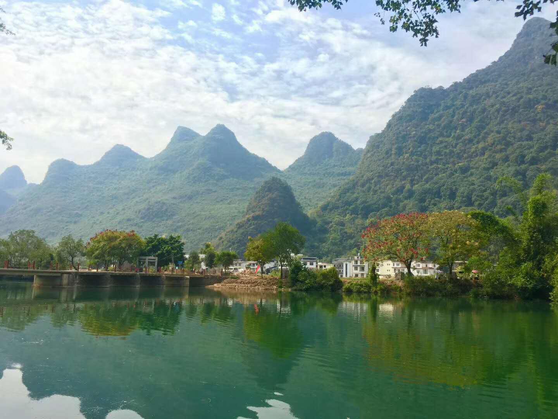 藏在桂林阳朔乡村的奢侈民宿,水墨山景,田园诗意,还有无边泳池
