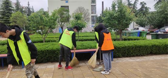 山东即墨区好人联谊会团总支开展文明创建志愿先行活动