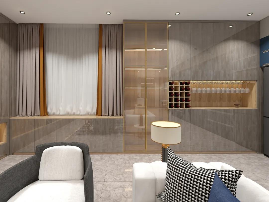做一个有气质的酒柜,才是餐厅正确打开方式