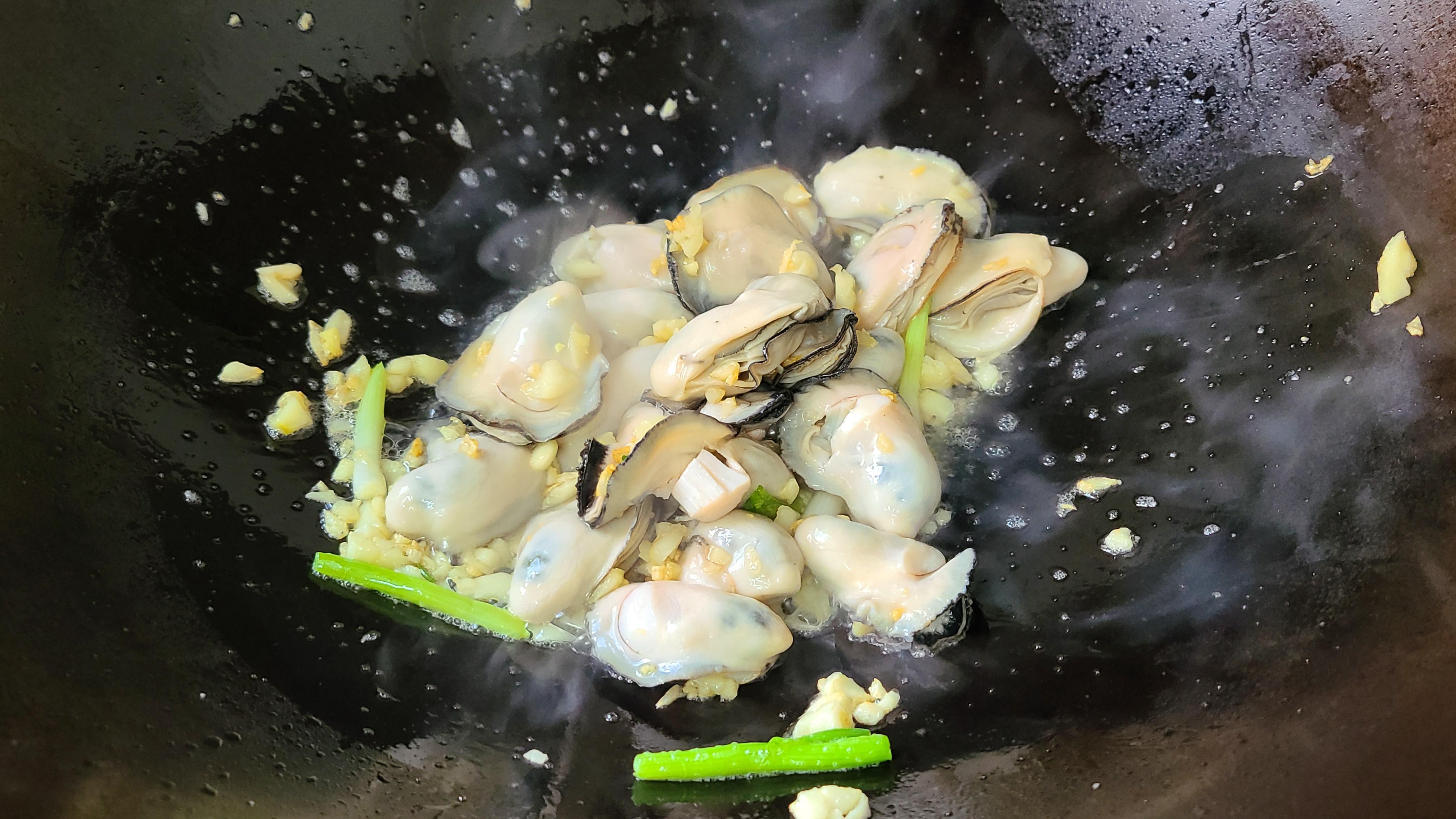 广式炒生蚝原来这么好吃,家常做法味道鲜美,看着就馋了 美食做法 第8张