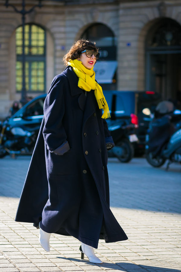 超全的质感围巾大赏,秋冬围巾选择这里都有