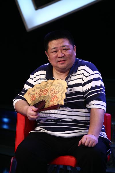 可爱的胖子梁冠华,老婆爱上他的胖,为演电视剧减肥30斤