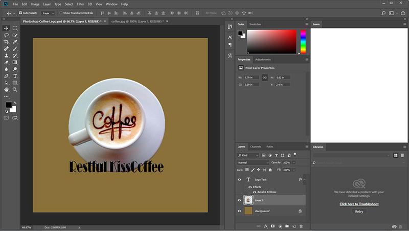 如何在Photoshop中创建徽标?