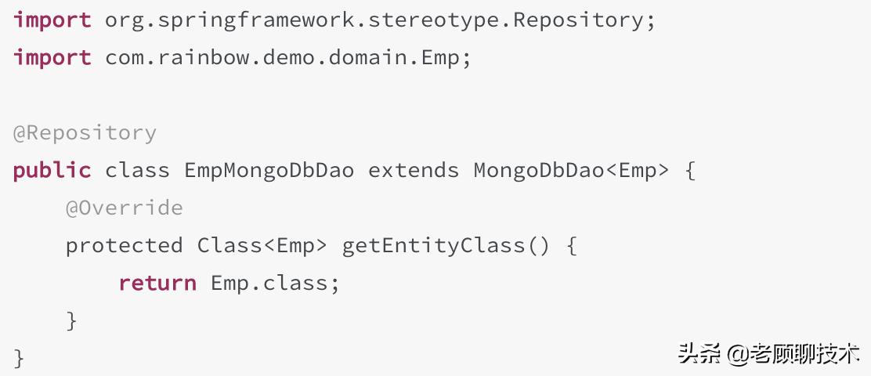 SpringBoot2.x集成MongoDB,强化版CRUD