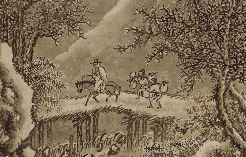 把古代名畫放大後,西方人不笑了,中國人卻樂壞了