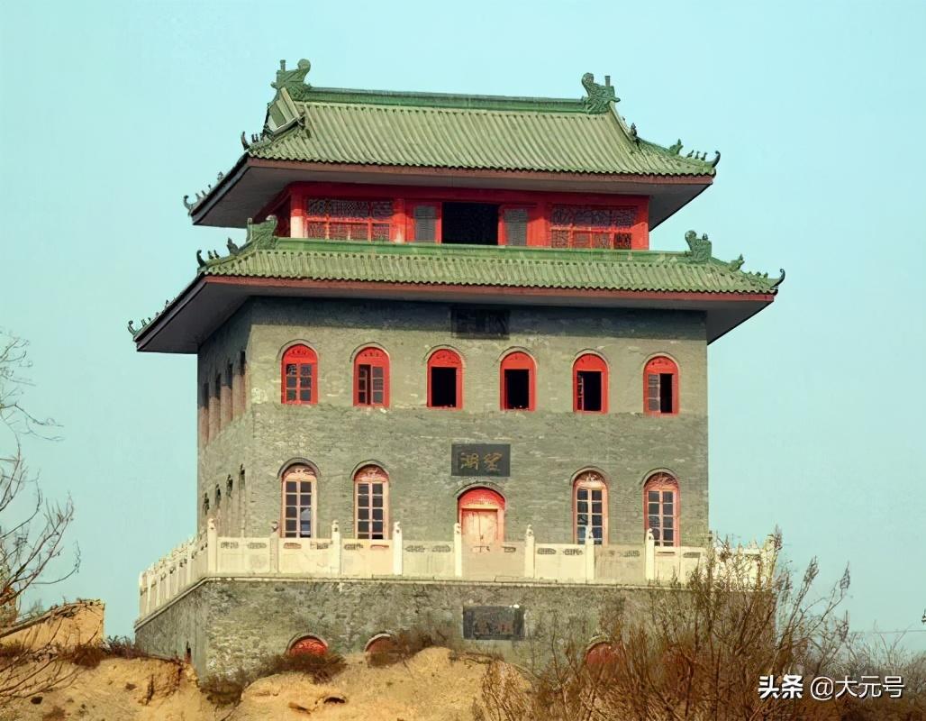 富平老县城的遗迹