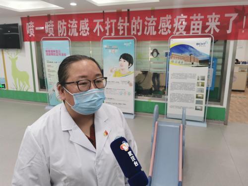 首个国产鼻喷流感疫苗湖北省开启首喷接种