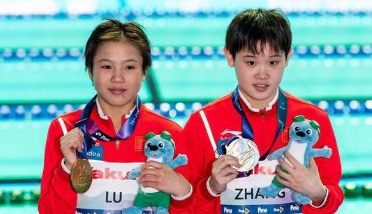 全红婵天才搭档13岁夺世界冠军!遗憾无缘战奥运,全运会再对决?
