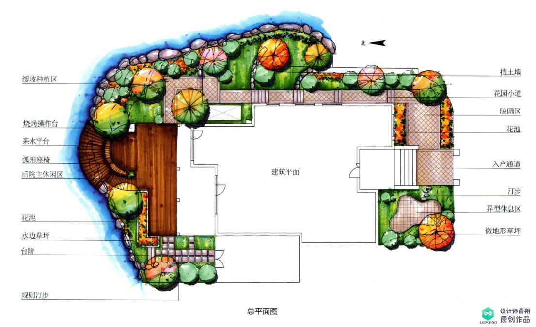 异形庭院怎么设计才好看?350㎡时尚大气的简欧风格!实用惬意
