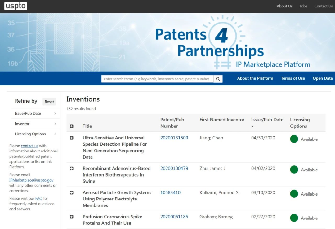 美国专利商标动态:专利、商标有关期限延长