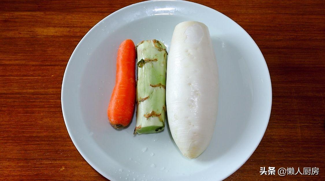 记住这个配方,1天就能吃上泡菜,很开胃 美食做法 第1张