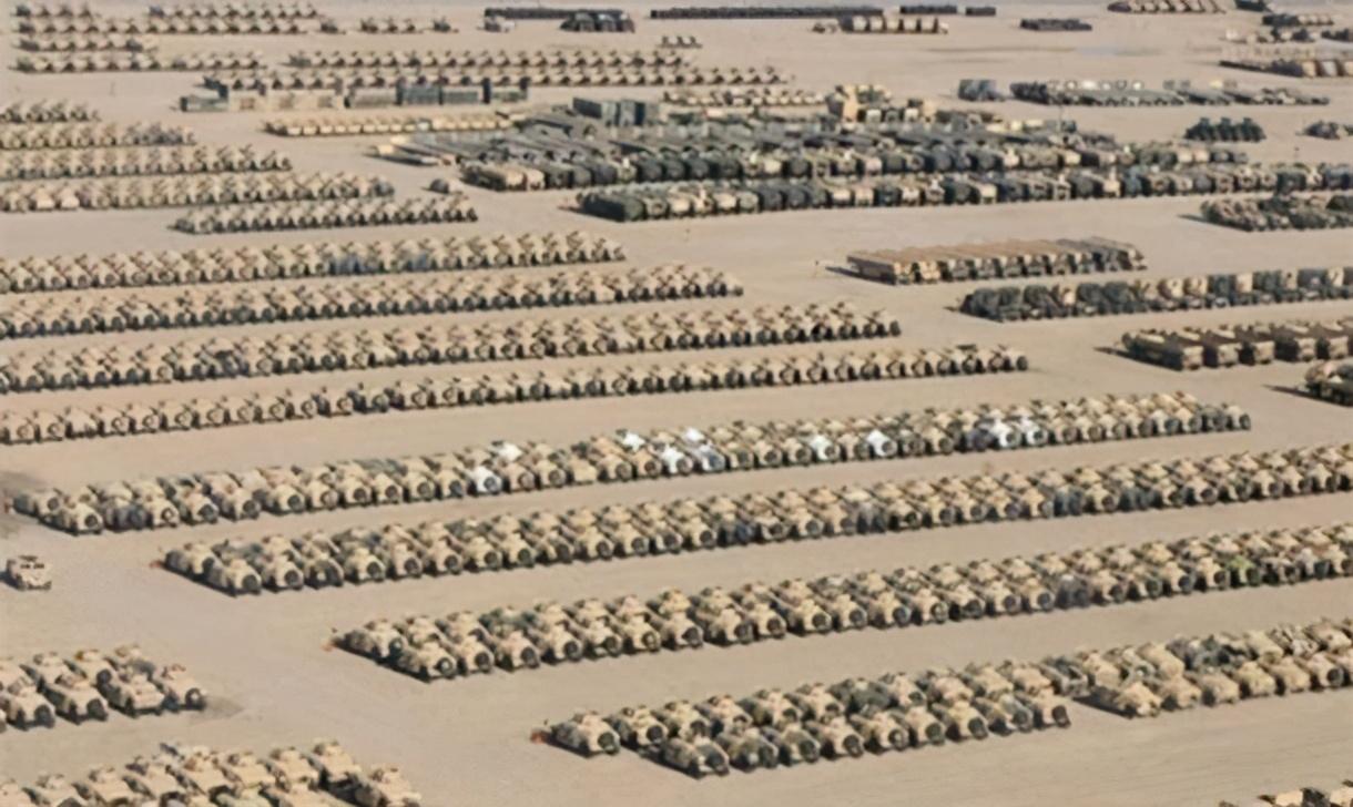 美军的家底儿有多厚?一起来开开眼看土豪家的好货