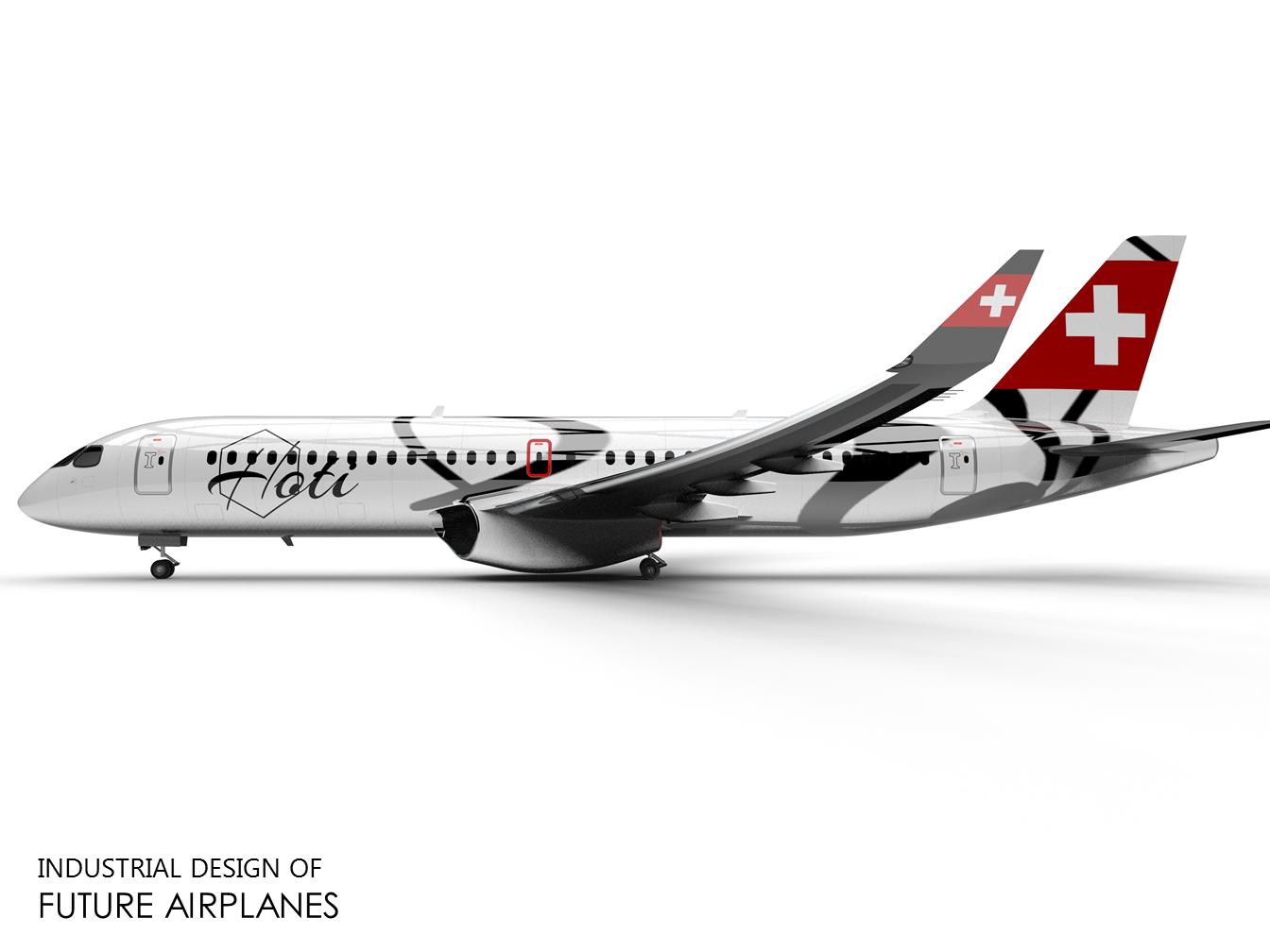 仿A220客机飞机模型3D图纸 x_t格式