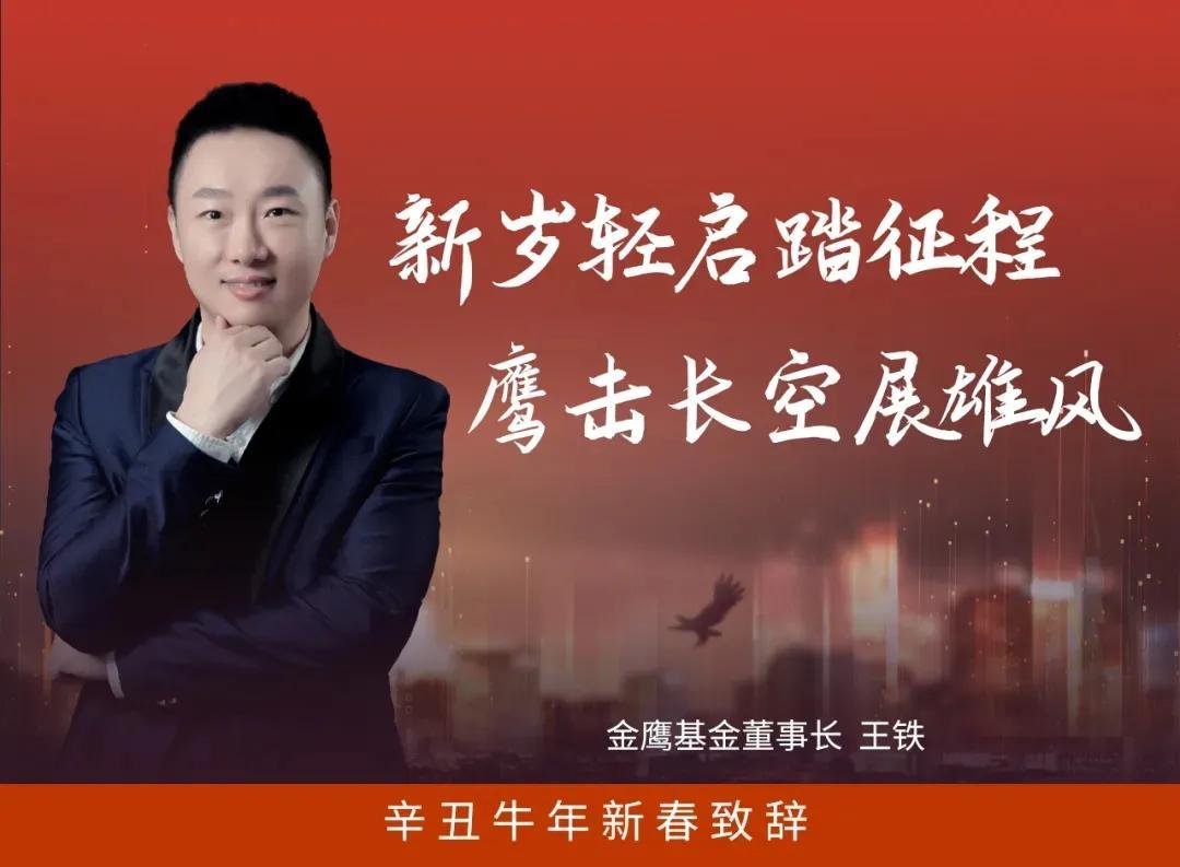 新年祝词|金鹰基金董事长王铁:新年之光开始旅途鹰击天象