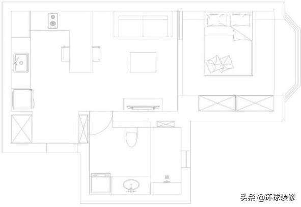 一位90年女主的小新房,面积50㎡,简约式风格,让我越看越爱