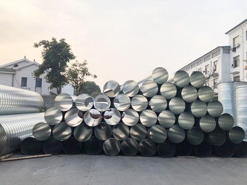 顺锦暖通简述不锈钢通风管道原理和施工要求