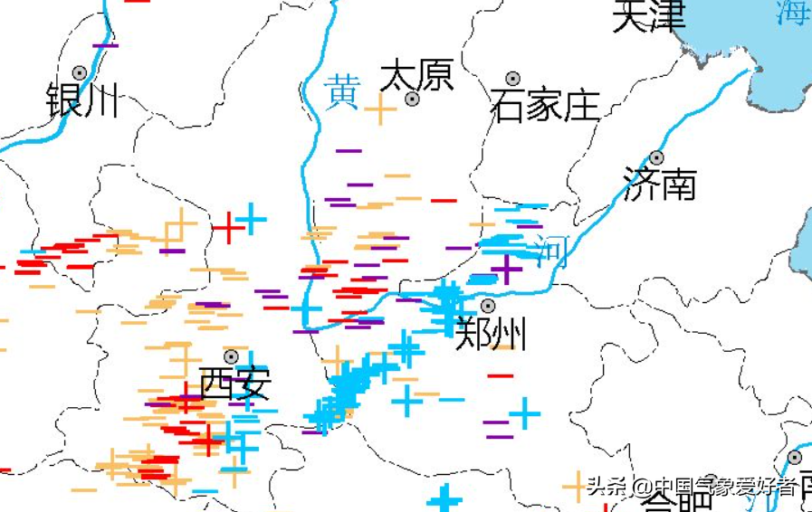 雪飑线突袭河南郑州,当地网友听到巨响!分析:是雷声,是好事