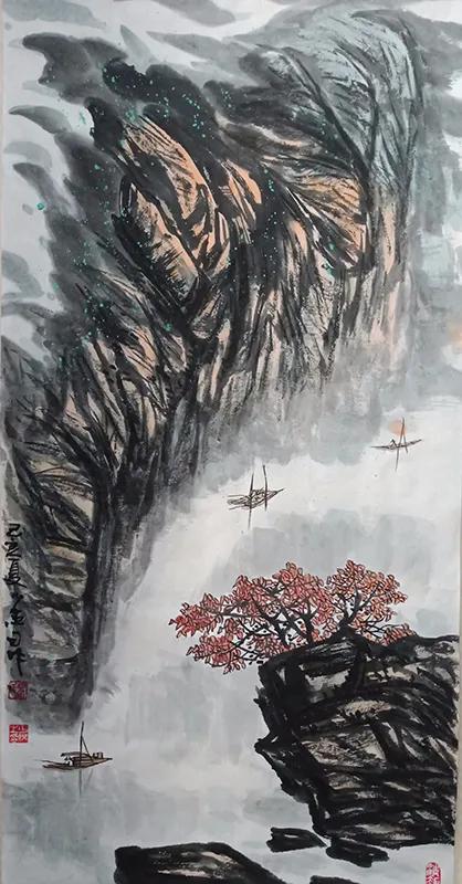 清香传得天心在 梅花香自苦寒来――马少杰先生绘画作品赏析