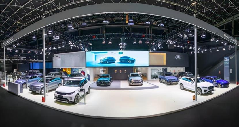 捷豹路虎携多款重磅车型亮相2021石家庄车展