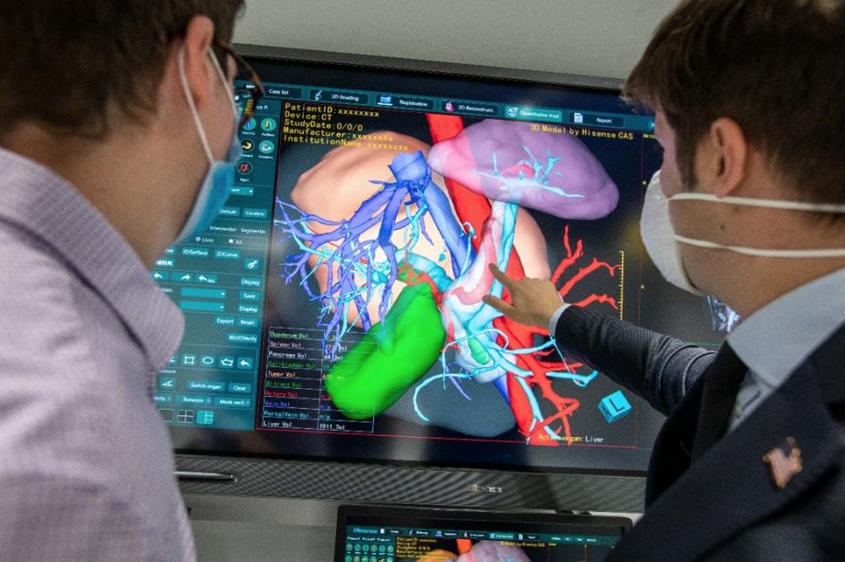 被世界顶尖实验室引入!海信医疗产品将深度融合达芬奇机器人
