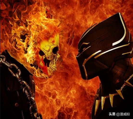 黑豹与恶灵骑士合体是什么体验?黑豹骑着父亲战斗