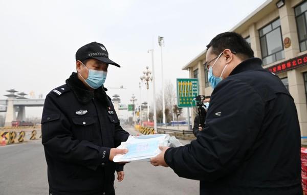 爱暖寒冬,邯郸企业捐赠30万助力抗疫