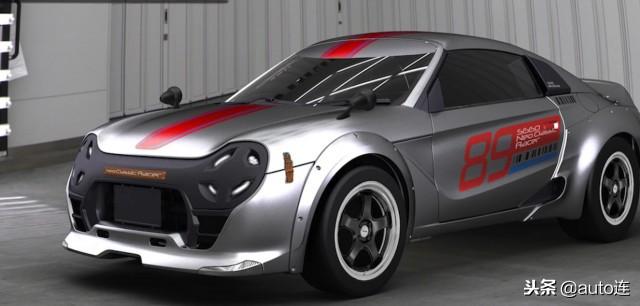 中置发动机 K-Car级別 广州本田Neo Classic Racer概念跑车发布
