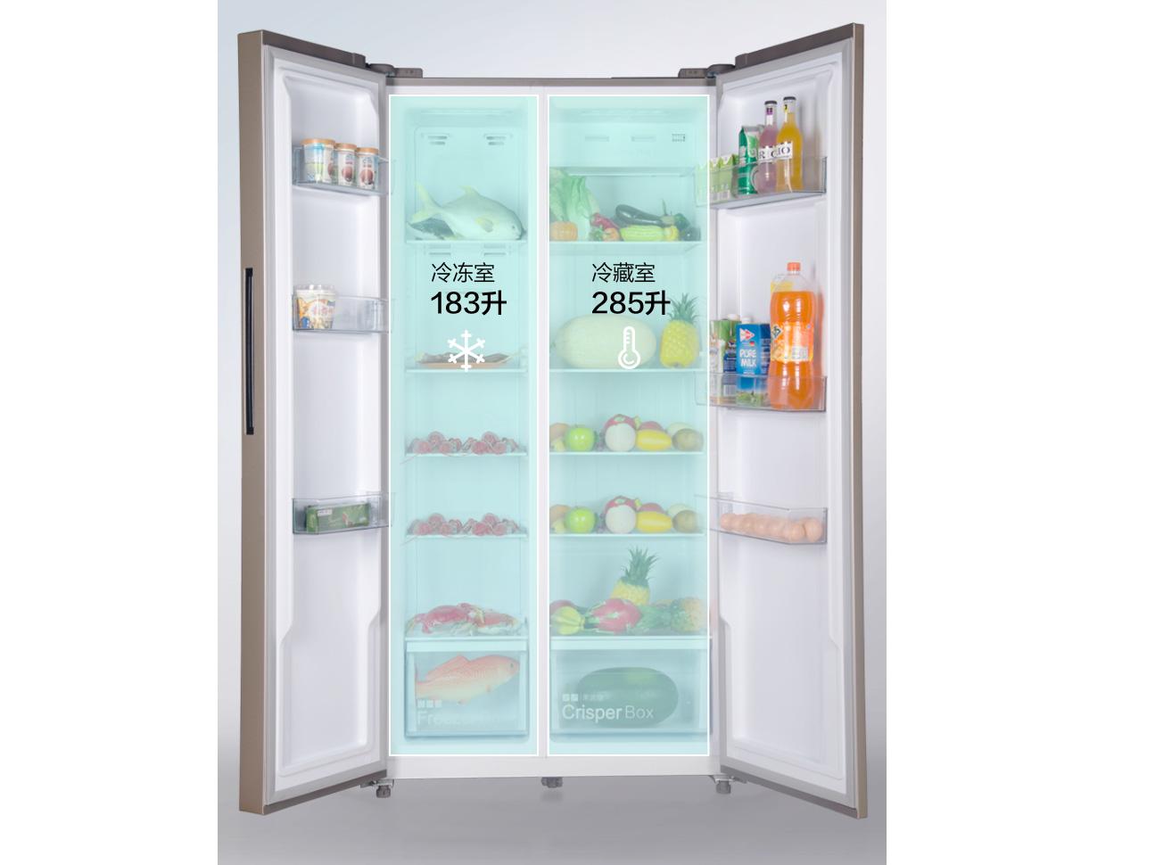 苏宁极物小Biu出手不逊小米,左右对开门冰箱仅1999元