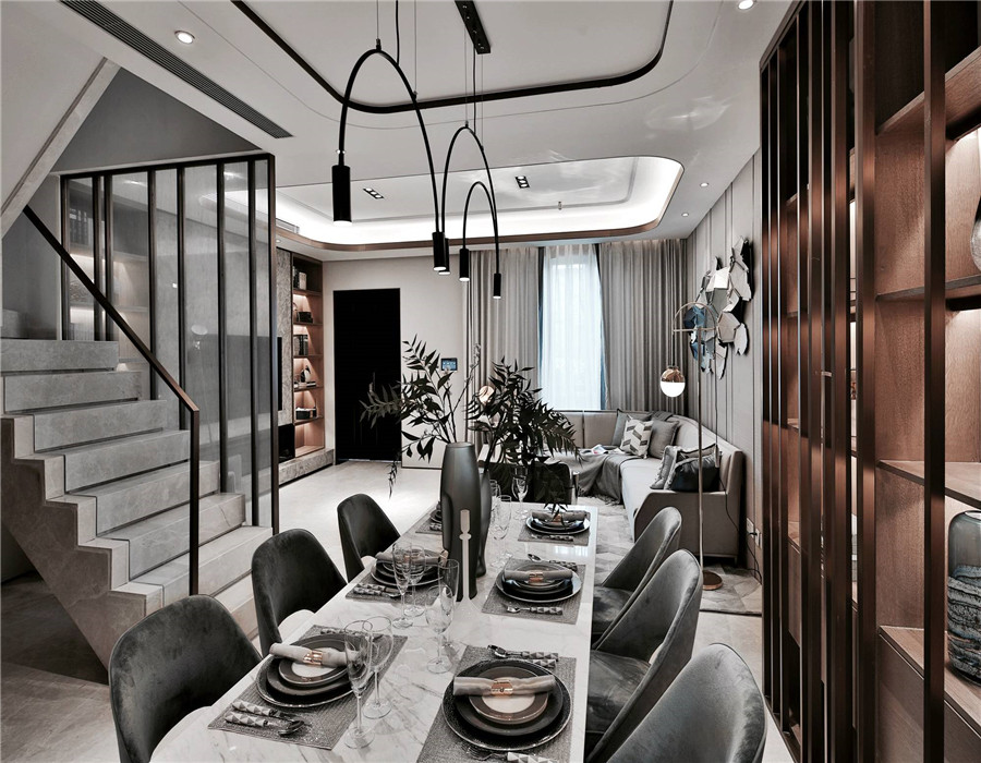 三层别墅设计图,简约风格你从未见过的时尚